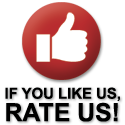If you like us, rate us button
